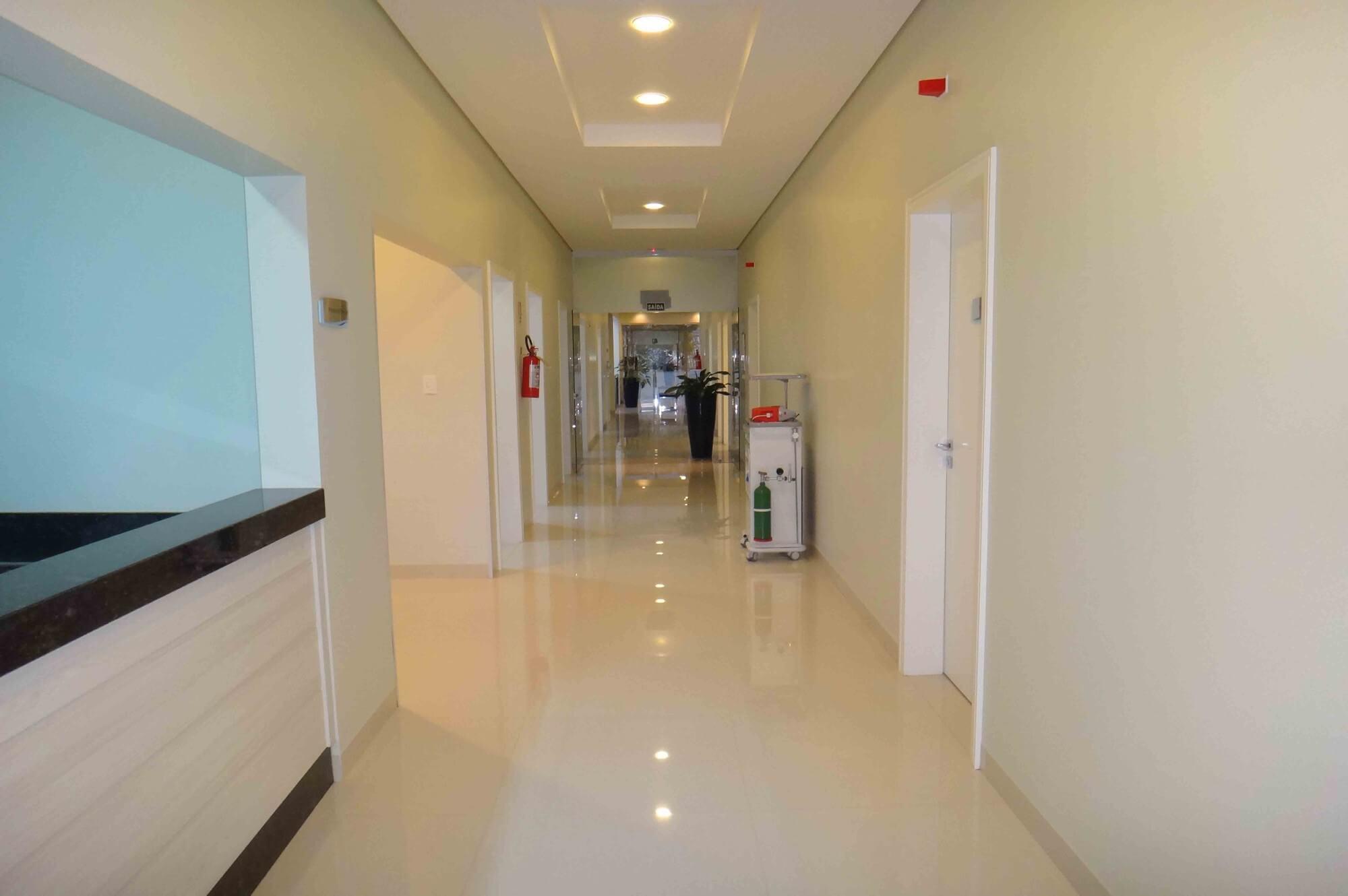 Estrutura do Hospital da Plástica